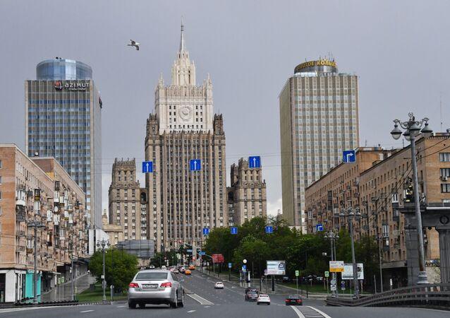 مبنى الخارجية الروسية في موسكو، 2020