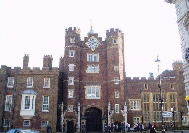 قصر سانت جيمس في لندن