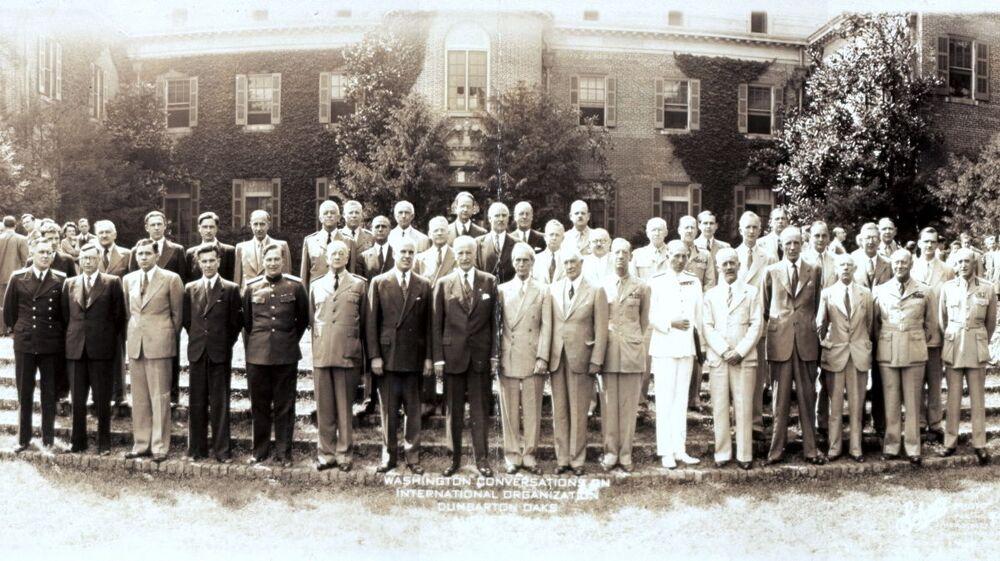 المشاركون فيجرت محادثات دمبارتون أوكس، واشنطن، 1944