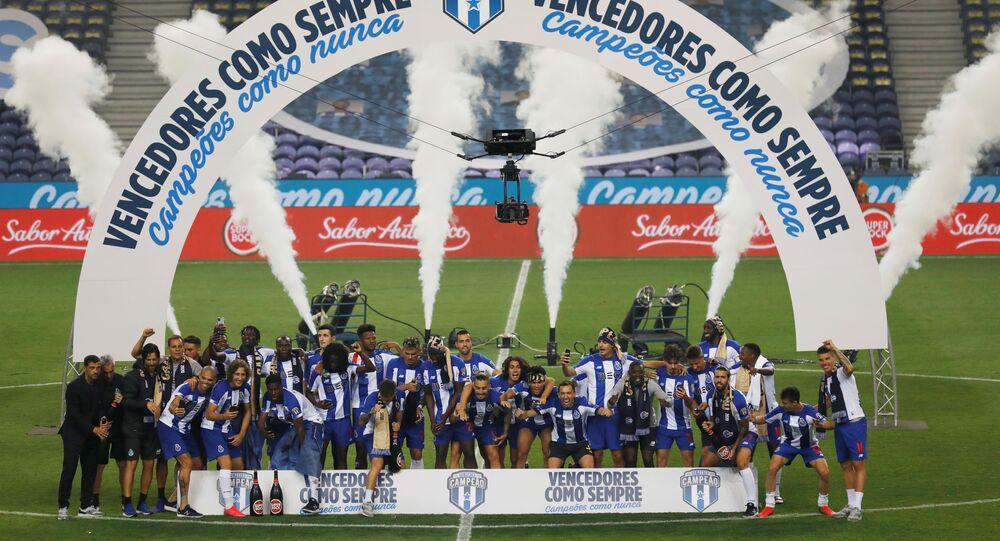 للمرة 29 في تاريخه بورتو يحرز لقب الدوري البرتغالي بعد فوزه على سبورتنغ