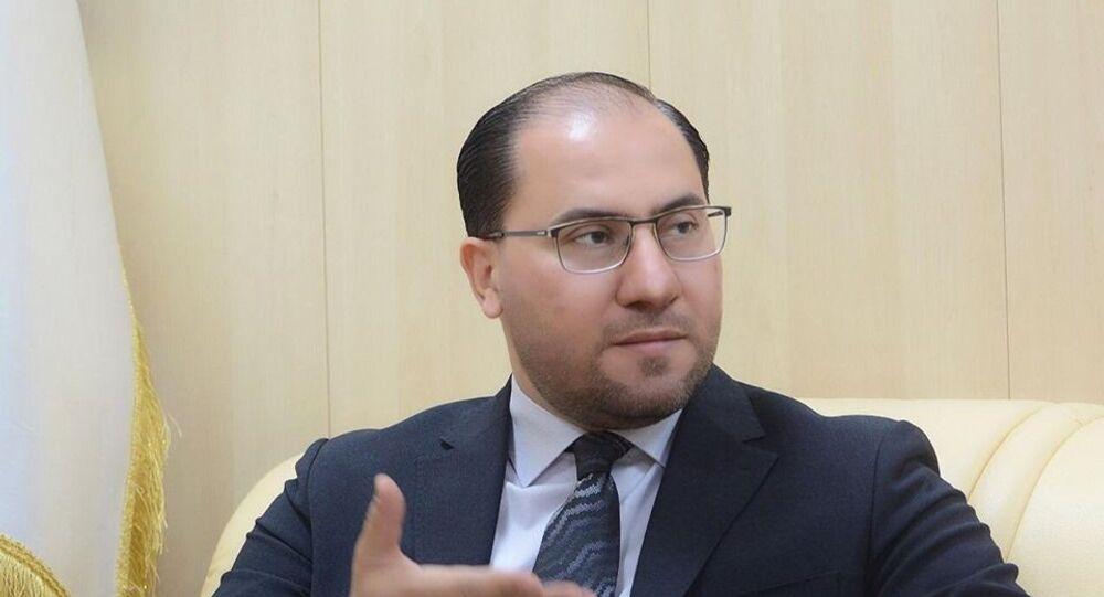 المتحدث باسم وزارة الخارجية العراقية أحمد الصحاف