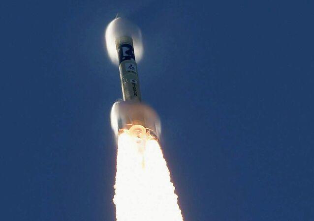 إطلاق مسبار الأمل، في أول مهمة عربية إلى المريخ، الإمارات العربية المتحدة، 20 يوليو 2020