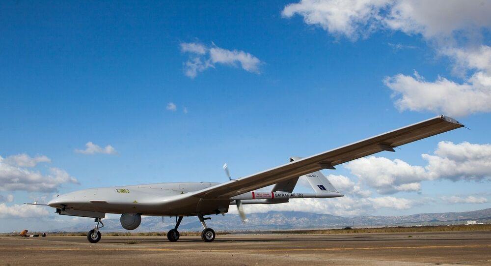 الطائرة المسيرة التركية بيرقدار تي بي 2