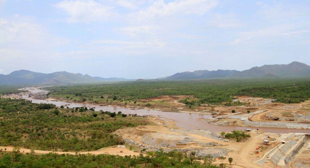 سد النهضة، إثيوبيا 28 يونيو 2013