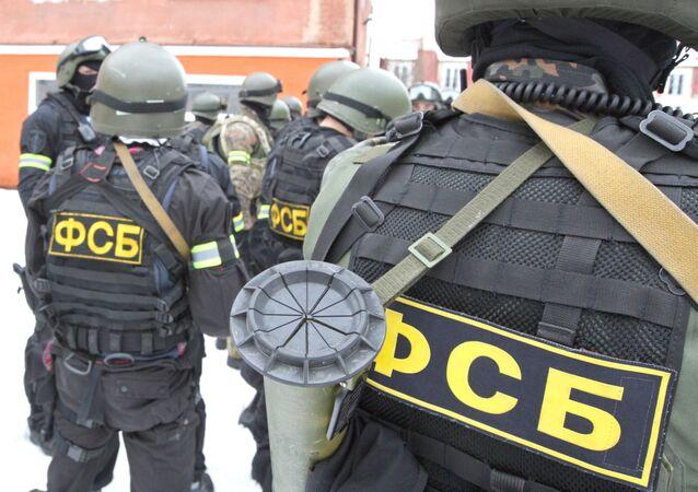 عناصر جهاز الأمن الفيدرالي الروسي