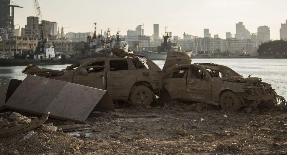 مرفأ  بيروت، لبنان 6 أغسطس/ آب 2020