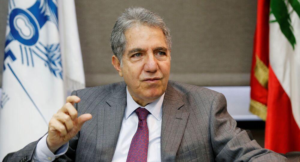 وزير المال اللبناني غازي وزني