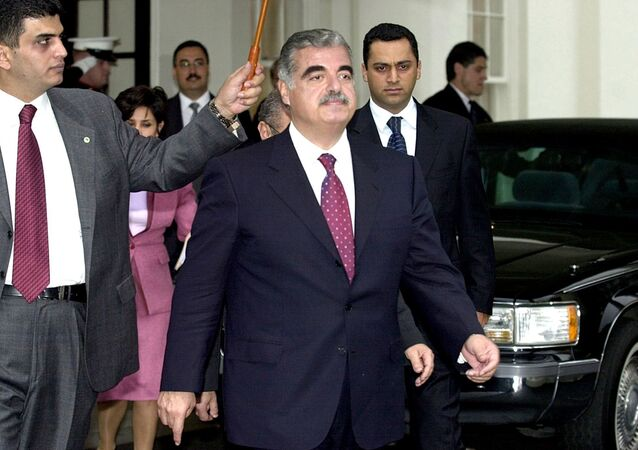 رئيس الحكومة اللبنانية الراحل رفيق الحريري