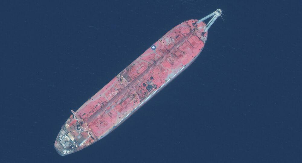 خزان صافر النفطي في اليمن