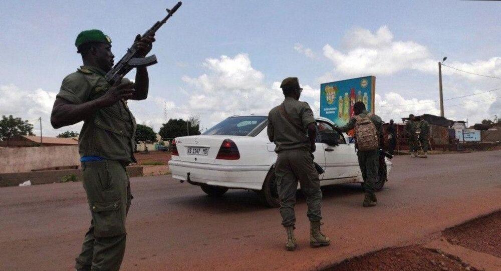 التجمع في عاصمة مالي دعما للتمرد العسكري