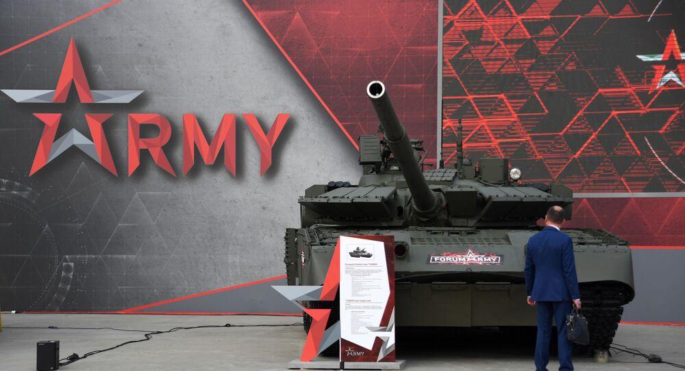 معرض أرميا 2020 - دبابة تي-80