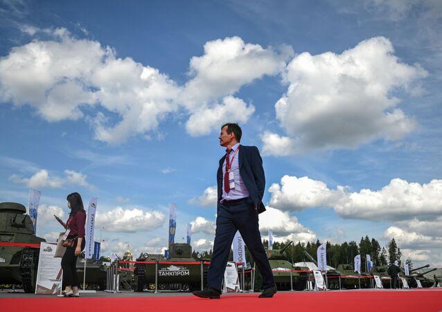 افتتاح معرض أرميا 2020 الدولي للأسلحة والمعدات العسكرية في الحديقة العسكرية الوطنية باتريوت بضواحي موسكو