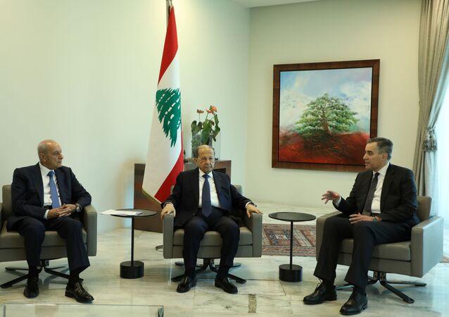 رئيس الحكومة اللبنانية المكلف مصطفى أديب، لبنان 31 أغسطس 2020