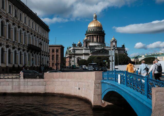 مناظر عامة لمدن روسيا - مدينة سان بطرسبورغ، 7 سبتمبر 2020