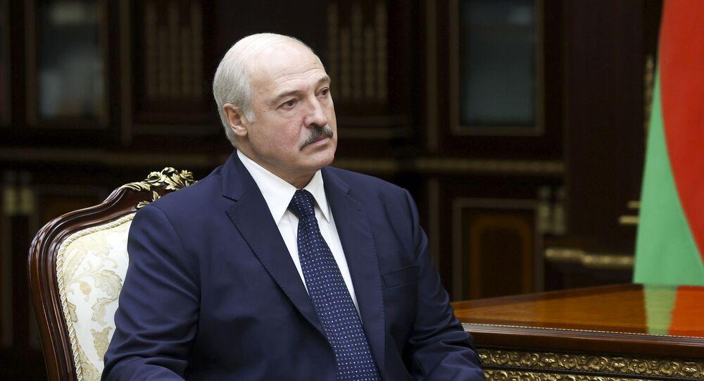 الرئيس البيلاروسي ألكسندر لوكاشينكو في مينسك، بيلاروسيا 7 سبتمبر 2020