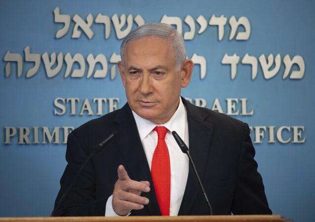 رئيس الوزراء الإسرائيلي بنيامين نتنياهو في القدس، إسرائيل 13 سبتمبر 2020