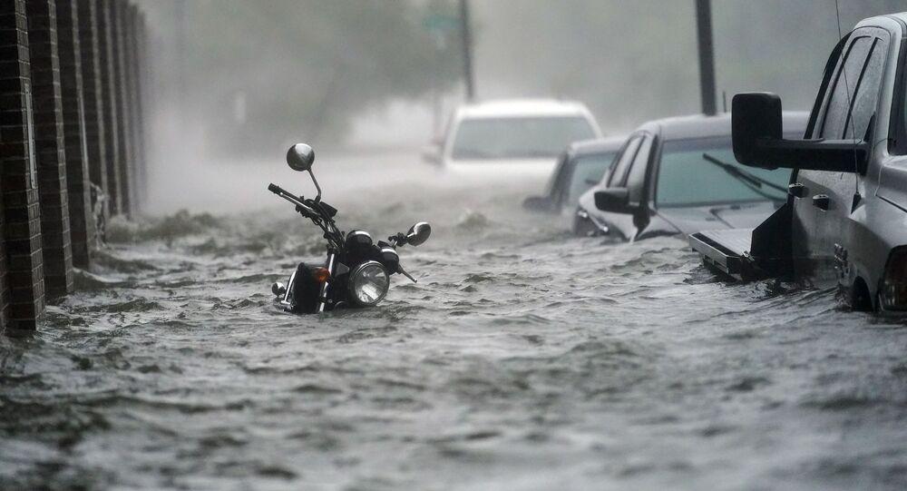إعصار سالي في فلوريدا، الولايات المتحدة 17 سبتمبر 2020