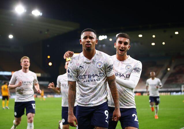 مباراة مانشستر سيتي وولفرهامبتون في الدوري الإنجليزي
