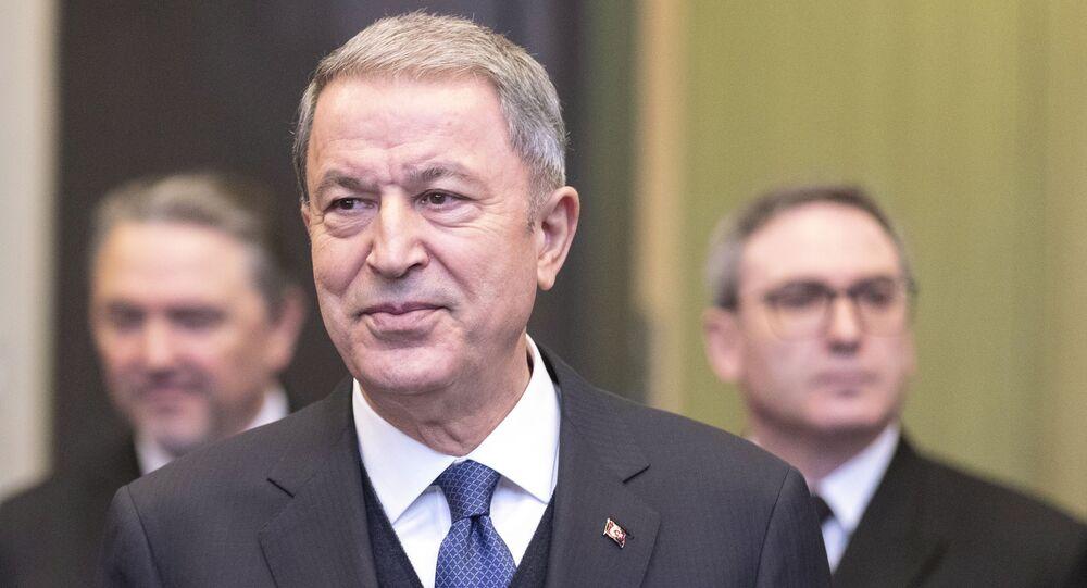 وزير الدفاع التركي، خلوصي أكار