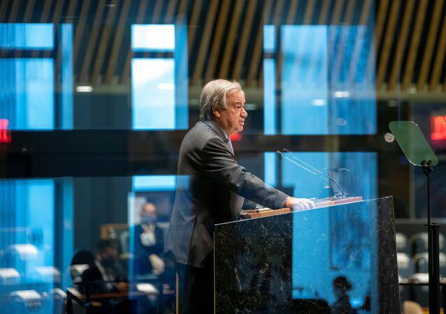 اجتماع الدورة الـ 75 للجمعية العامة، الأمم المتحدة 22 سبتمبر 2020