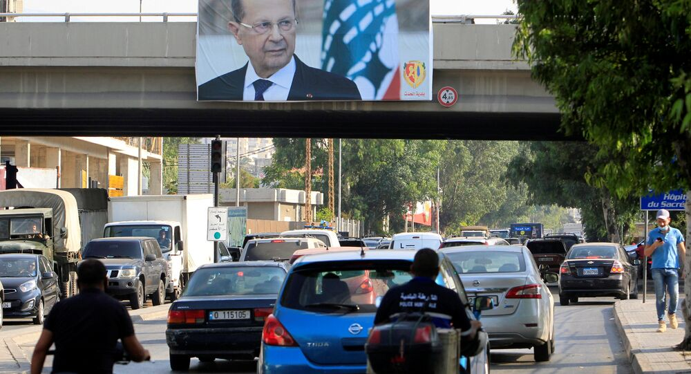 أزمة لبنان، سبتمبر 2020