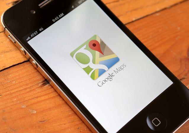غوغل ماب Google Maps