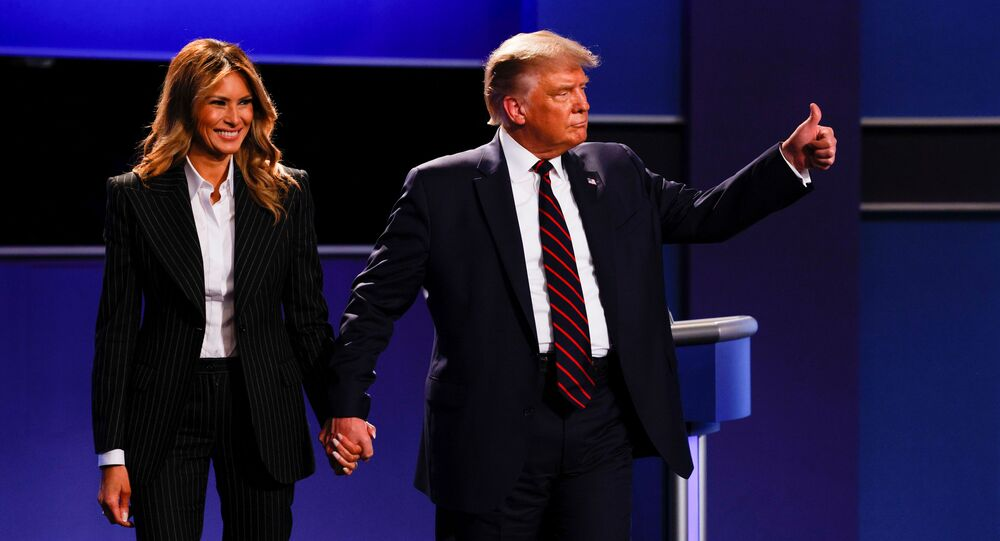 المناظرة الأولى بين مرشحي الرئاسة في الولايات المتحدة، دونالد ترامب و جو بايدن، 29 سبتمبر 2020