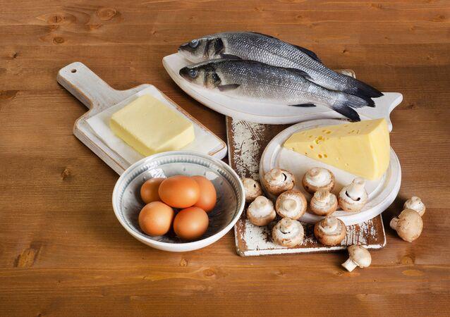 أغذية تحتوي فيتامين د