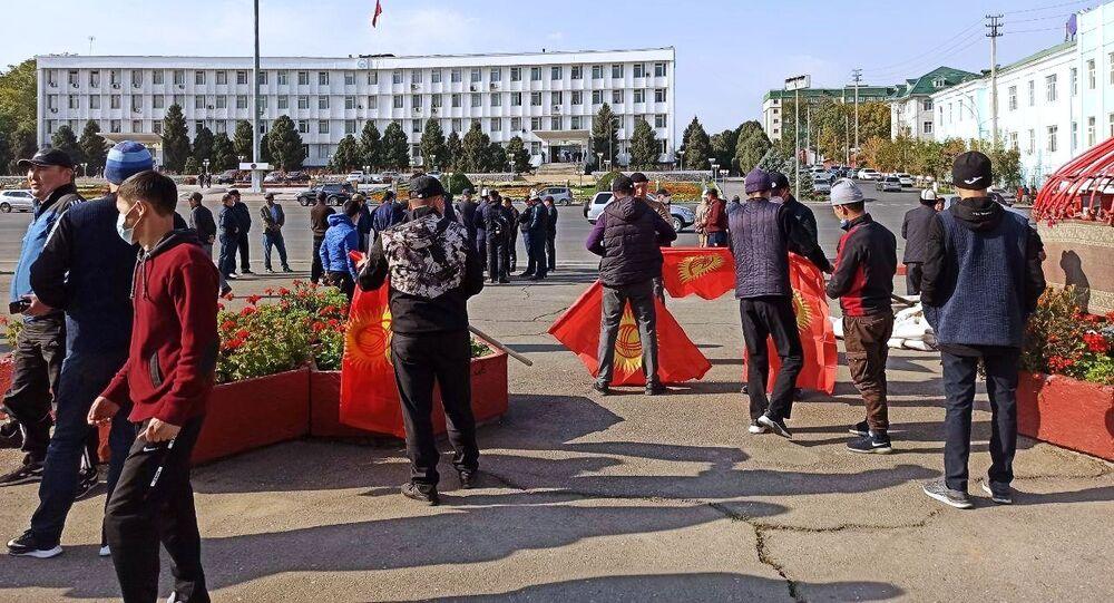الوضع في بيشكيك، قيرغيزستان 8 أكتوبر 2020