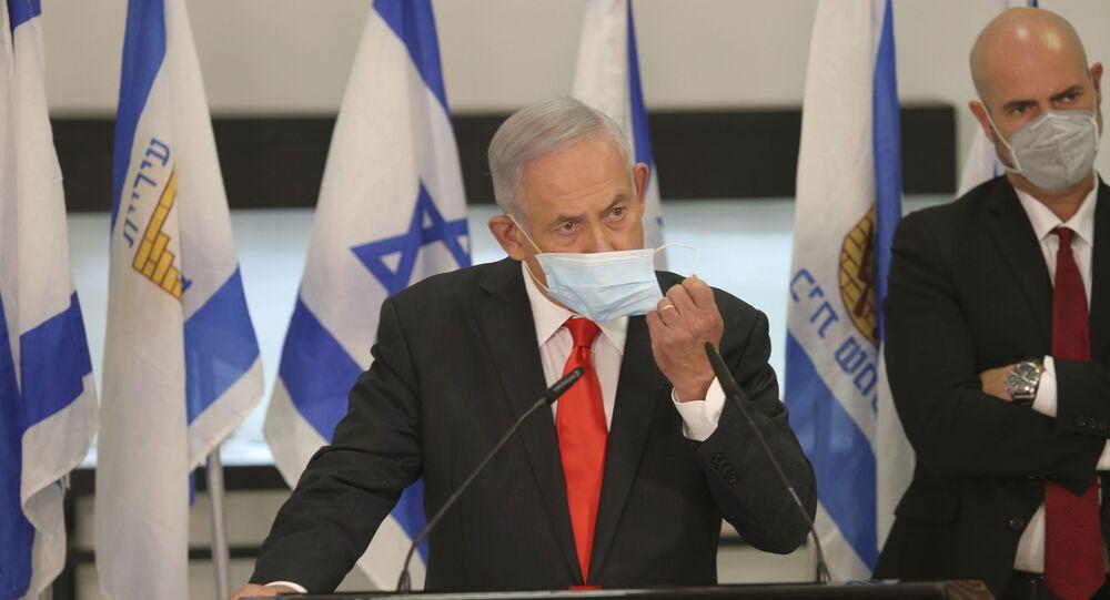 رئيس الوزراء الإسرائيلي بنيامين نتنياهو، إسرائيل سبتمبر 2020