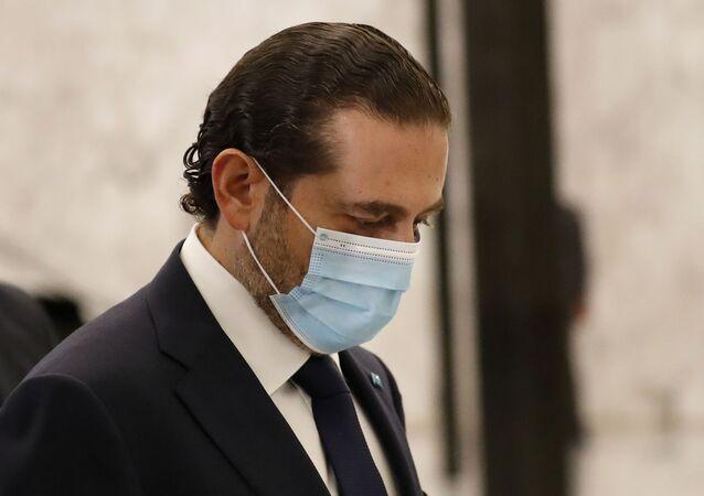 رئيس الحكومة اللبناني المكلف سعد الحريري، لبنان 22 أكتوبر 2020