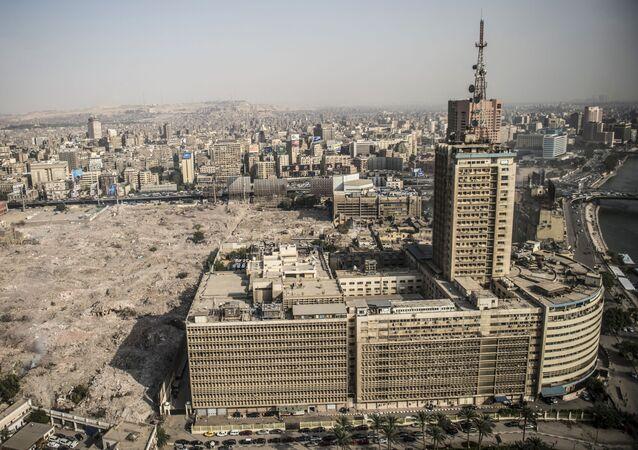 مبنى الإذاعة والتلفزيون المصري ماسبيرو