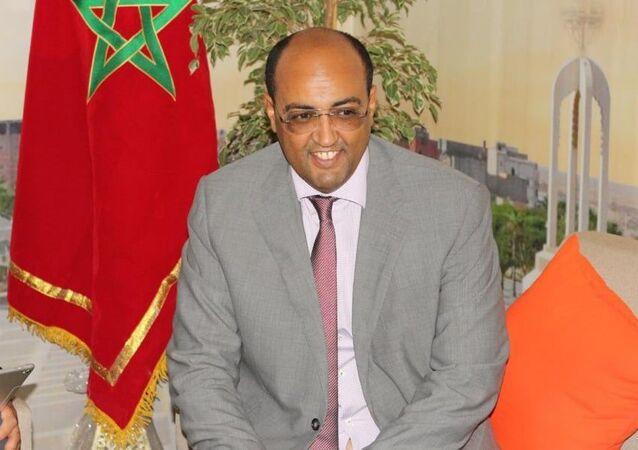 حمدي ولد الرشيد رئيس جهة العيون بالمغرب