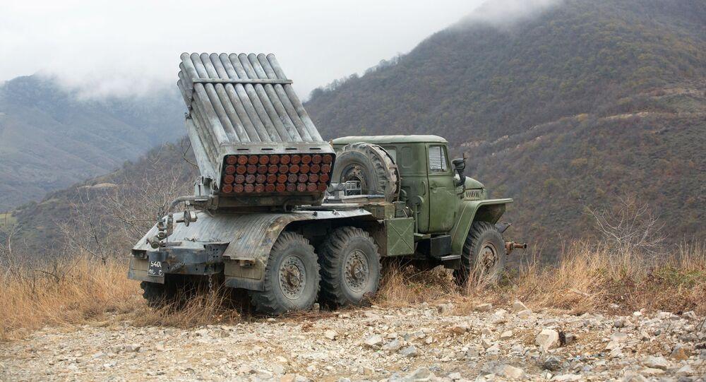 قره باغ، بعد توقيع اتفاق لإنهاء الحرب بين أرمينيا وأذربيجان، 13 نوفمبر 2020