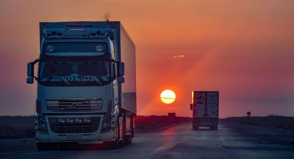 طريق ترانزيت بين السعودية وسوريا عبر العراق