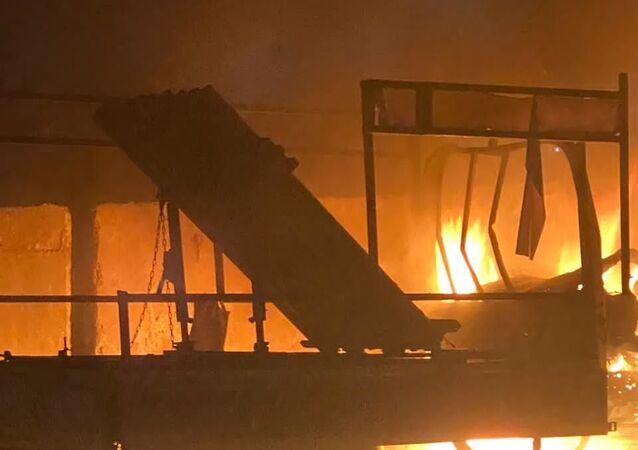 قصف يستهدف المنطقة الخضراء وسط بغداد
