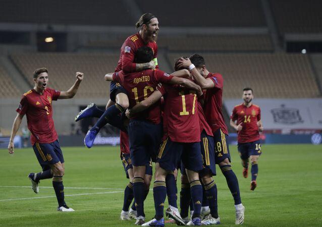 خسارة منتخب ألمانيا أمام نظيره إسبانيا بستة أهداف دون رد في دوري أمم أوروبا