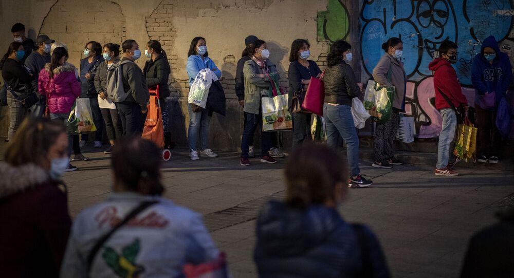 أخبار كورونا في دول أوروبا والعالم - الإغلاق التام في برشلونة، إسبانيا