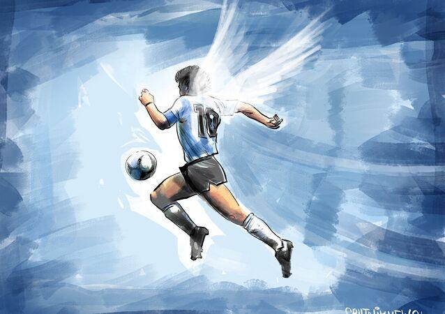 وداعاً، مارادونا!