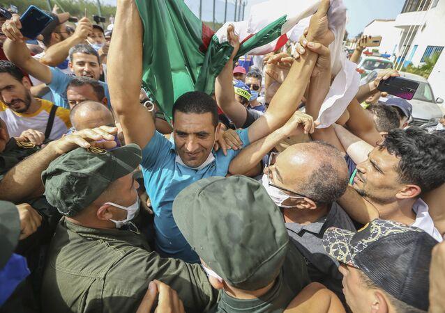 السياسي المعارض الجزائري كريم طابو، الجزائر يوليو 2020