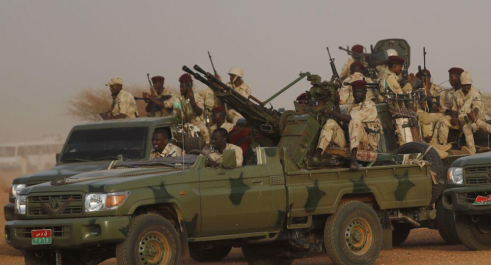 قوات الدعم السريع في السودان