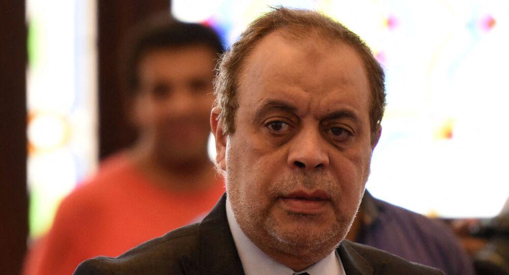نقيب المهن التّمثيلية في مصر، أشرف زكي