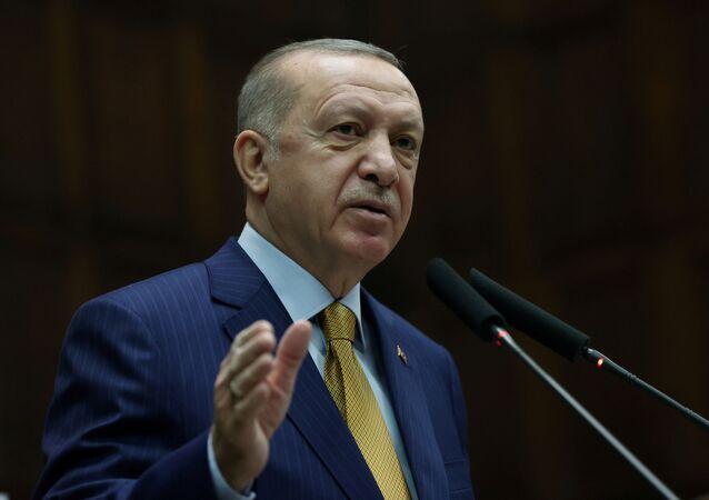 الرئيس التركي رجب طيب أردوغان، ديسمبر 2020