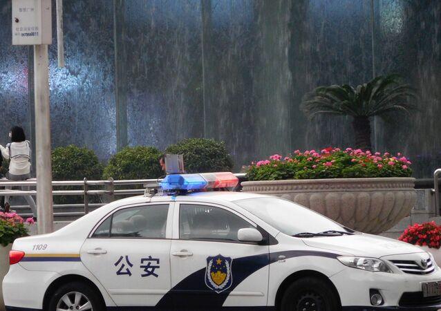 سيارة شرطة صينية