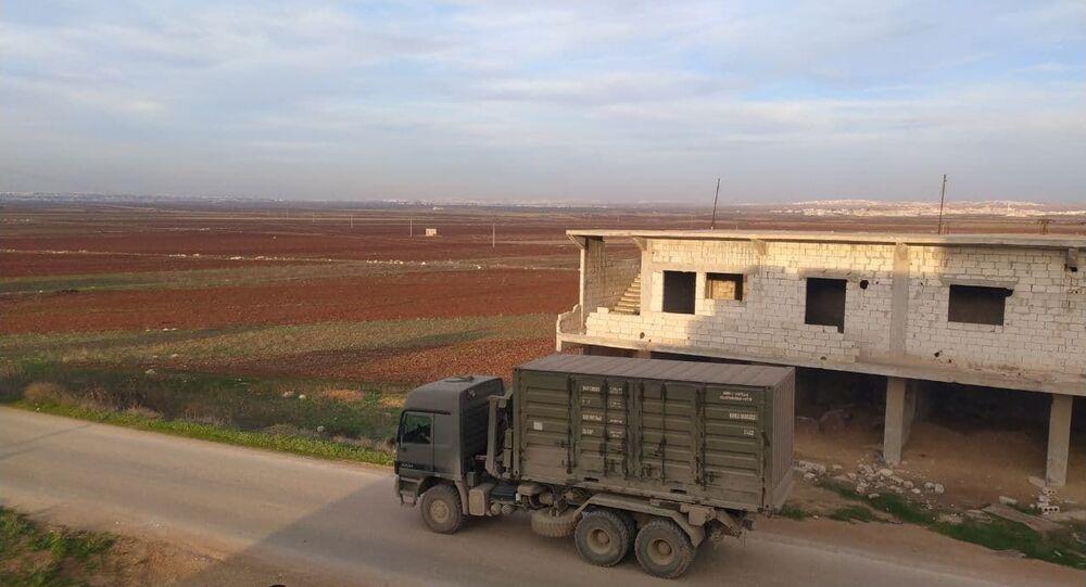 انسحاب القوات التركية من آخر نقطة يحاصرها الجيش السوري بريف حلب