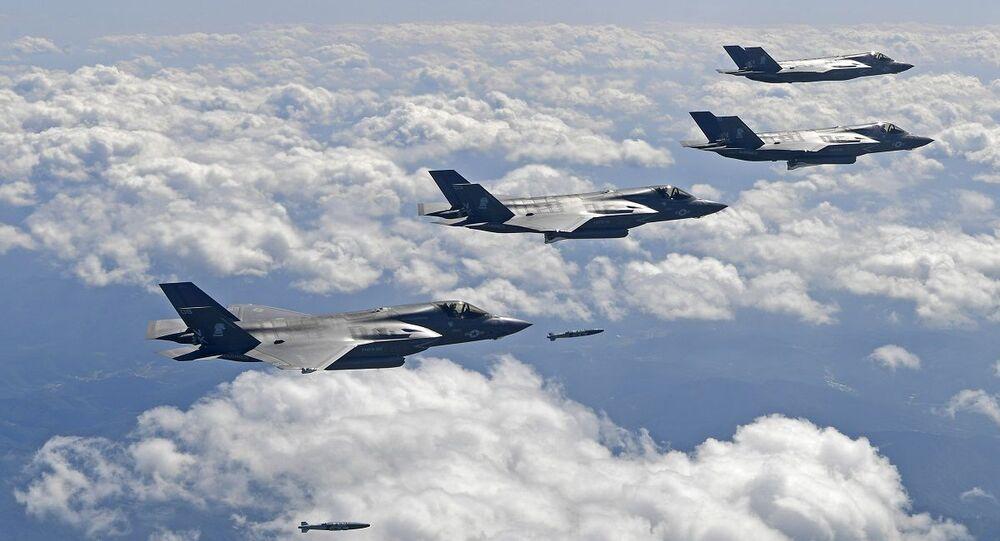 طائرات إف - 35 الشبحية الأمريكية