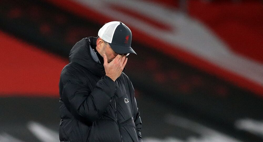 المدرب الألماني يورغن كلوب المدير الفني لليفربول الإنجليزي