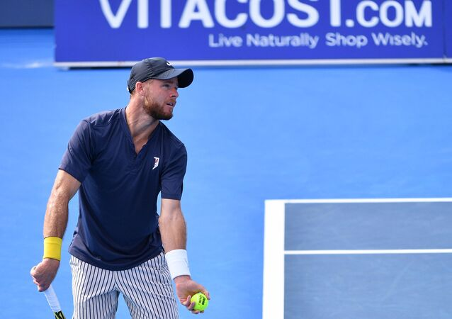 لاعب التنس الأمريكي كريستيان هاريسون