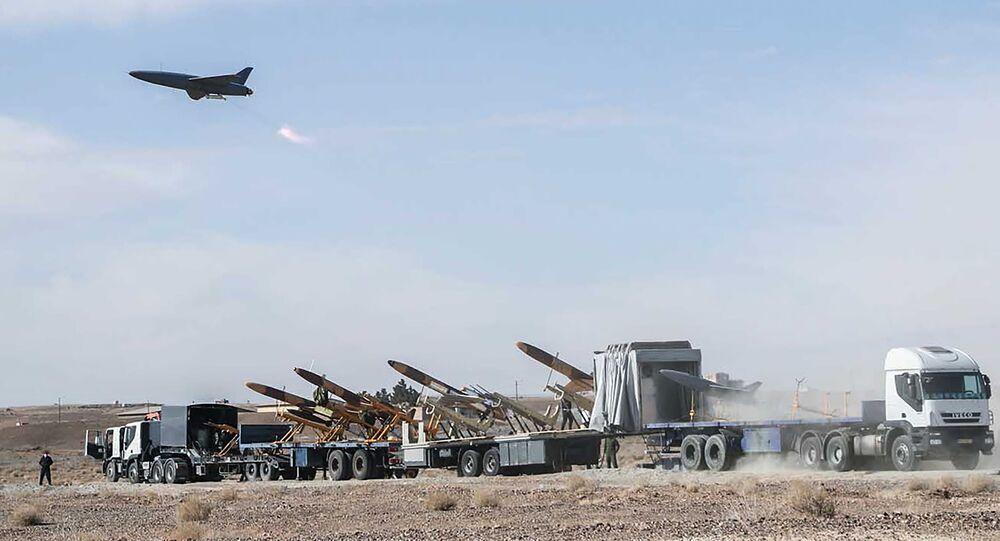 صواريخ إيرانية خلال مناورات الحرس الثوري الإيراني