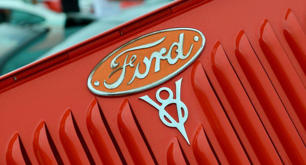 علامة شركة فورد